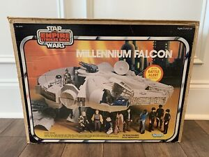 STAR WARS MILLENNIUM FALCON CLOUD CITY BOX ONLY ESB KENNER VINTAGE 1981 HAN SOLO