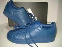 various colors 40c84 fc89f New Adidas Originals Womens US 7 Blue Superstar Glossy Toe Fashion Sneaker  Shoes