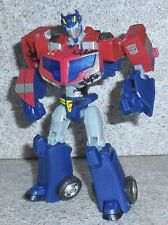 Transformers Animated OPTIMUS PRIME Incomplete Battle Begins Deluxe Figure