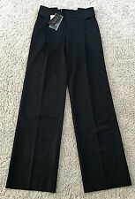 """NWT GUCCI Classic Black Dress Pants 100% Wool 36"""" Inseam Made in Italy 42 $710"""