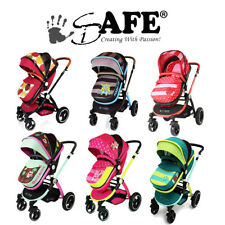 iSAFE 2 in 1 Pram + Rain Cover - Limited Edition Designs
