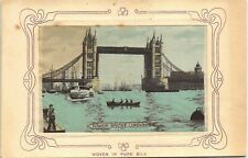 More details for woven silk. tower bridge, london by w.h.grant.