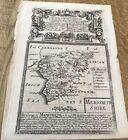 Merionethshire Camden/Worcester Owen  BOWEN RD MAP C1720 FROM BRITANNIA DEPICTA