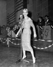 8x10 Print Lillian Briggs First Women Dawn of Rock Sands Hotel 1956 #LB01