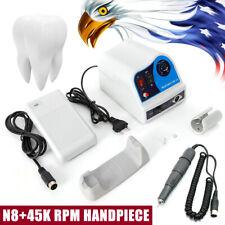 Dental Lab Polishing Handpiece 45k Rpm Electric Micromotor N8 Polisher