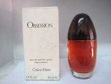 OBSESSION BY CALVIN KLEIN EAU DE PARFUM SPRAY 1.7 Fl OZ DAMAGED BOXES