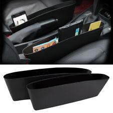 2pc Car Seat Gap Filler Organiser Pocket Holder Storage Box Holder Side Catcher