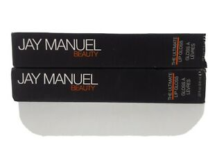 2 Jay Manuel Beauty Ultimate Lip Gloss PINCH New Lot of 2