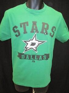 New Dallas Stars Size S Small Green Majestic Shirt $25 MSRP
