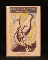 1947 Green Corners Bertha Damon First Edition Colour Illustrations Dustwrapper