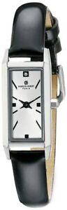 Ladies Charles Hubert Stainless Steel Silver-Tone Dial Watch XWA5549