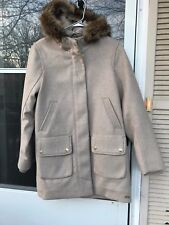 NWT ABERCROMBIE&FITCH LADYS HERITAGE WOOL COLD WEATHER COAT PARKA SIZE L ($280)