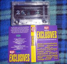 Cassette SELECT MAGAZINE EXCLUSIVES Spiritualized U2 Massive Attack Stereolab