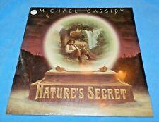 "MICHAEL CASSIDY Nature's Secret LP Vinyl Record 12"" FOLK PSYCH ROCK 1977"