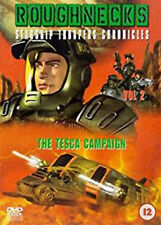 ROUGHNECKS STARSHIP TROOPERS CHRONICLES TESCA CAMPAIGN VOL 2 DVD UK Rele New R2