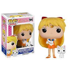 Funko Sailor Moon POP Sailor Venus with Artemis Vinyl Figure NEW Toys Anime