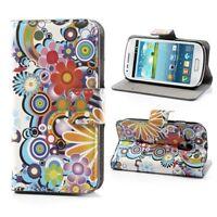 Flip Cover/Schutz-Hülle zu Samsung Galaxy S3 mini GT-I8190 STAND BOOK TECHNO