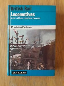 British Rail Locomotives & Other Motive Power Combined Volume 1966 Ian Allan