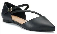 Apt 9 Womens Develop shoes flats black comfort US 6M New