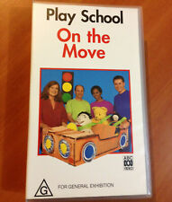 PLAY SCHOOL - ON THE MOVE - VHS