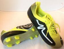 New Mens Mitre Katana Outdoor Soccer Cleats Shoes 7 Black Yellow