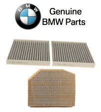 BMW F25 X3 xDrive28i Cabin Air Filter Set for Fresh Air and Air Filter Set OES