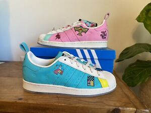 Adidas Superstar Arizona Tea Pink Teal GZ2861 Sneakers-New-Extra laces in pouch
