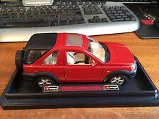 BURAGO BIJOUX COLLEZIONE 1/24 SCALA FREELANDER (1998) - cod.0565 - Rosso-Boxed