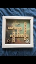 Personalised Scrabble Art Frame - Perfect For Gifts, Christmas, Birthdays