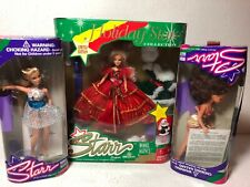 Holiday, Dawn & Misty Starr Super Model Dolls lot of 3