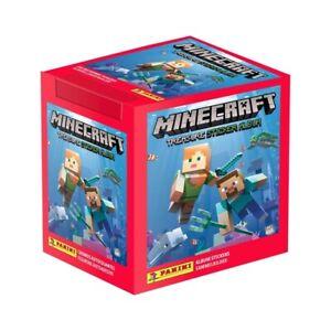 10 X Panini Minecraft Treasure Sticker Booster Packs