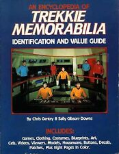 STAR TREK TREKKIE MEMORABILIA EXC! TOS Encyclopedia Identification Value Guide