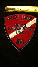 Vintage Police Patch, North Londonderry, TWP. Township, PA  Lot #19