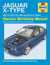 Jaguar X-Type Haynes Manual Repair Manual Workshop Service Manual 2001-2010 5631