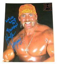 WWE HULK HOGAN SIGNED PHOTO WITH COA FROM HULK HIMSELF 2