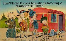 Vintage Travel Trailer Art  Funny Refrigerator / Tool  Box  Magnet