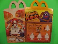 1985 McDonalds - Picture Perfect - Box - Grimace *Optional*
