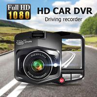 2,4''Caméra de Voiture Caméra Embarquée Full HD 1080P Mini Dashcam DVR Capteur G
