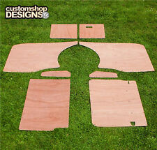 VW T5 Transporter SWB Camper / Day Van Interior Panels / 6mm Ply Lining Trim Kit
