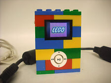 Used VGC Lego 2 GB MP3 player Original with Charger USB cord and Earbuds works