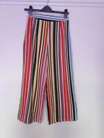 Pretty Little Thing Striped Culottes / Trousers Size 8