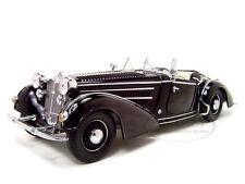 1939 HORCH 855 ROADSTER BLACK 1/18 DIECAST MODEL CAR SUNSTAR 2401