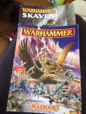 Warhammer Rulebook 1996 edition And Warhammer Skaven