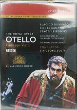 OTHELLO - GIUSEPPE VERDI (DVD, 2008) ROYAL OPERA HOUSE COLLECTION, NEW & SEALED