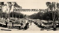 "1935 San Diego, CA Modeltown USA ""Modernization Magic"" Vintage Panoramic Photo"
