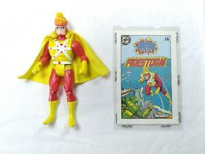 Vintage Super Powers FIRESTORM Action Figure & Mini Comic #16