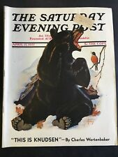 The Saturday Evening Post April 17 1937 cover by Jack Murray