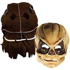 """Trick r Treat"" Sam Unmasked 2 Pc Full Head Latex Mask W/ Brown Cloth Hood"