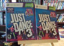 Just Dance 3 (Xbox 360) - Complete, CIB, Excellent!