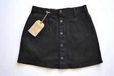 """RALPH LAUREN Skirt Demin Mini Black 'Emilie Tilden' W27/28 Length 15"""" - BNWT"""